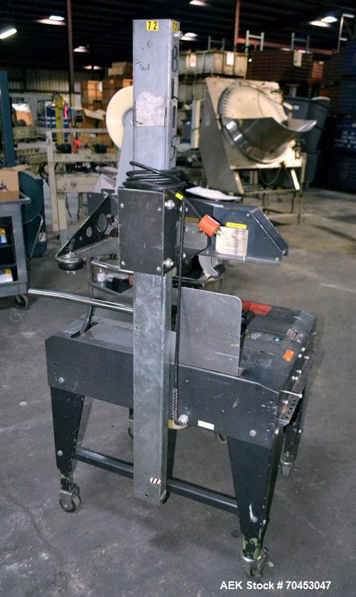Used- Little David Model LD3E Top & Bottom Tape Case Sealer capable of speeds up to 72' per minute. Can handle a case size r...