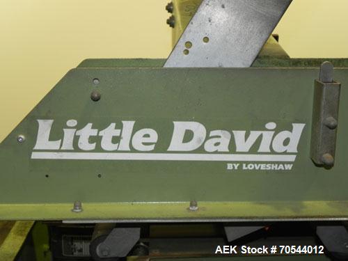 Used- Little David (Loveshaw) Top Only Case Sealer, Model LD-3SB/2