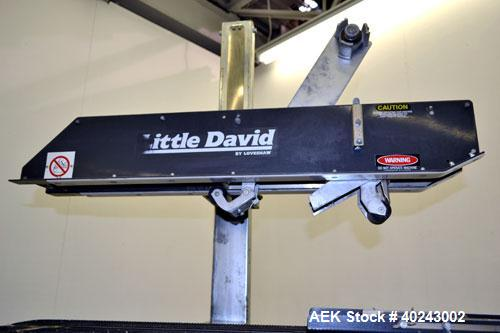 Used- Loveshaw Little David Top Case Taper, Model 19/15
