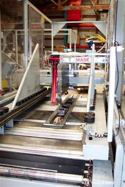 Used- Marq Medium Frame, Random Size, Side Lug Drive, Top & Bottom Case Sealer,