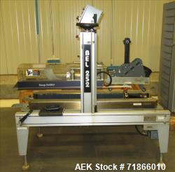 Used-Belcor Model 252 Automatic Top Case Sealer/Taper. Case sealer is capable of speeds up to 25 cpm. Fully automatic operat...