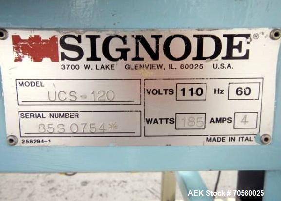 Used- Signode Case Sealer, Model UCS120