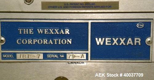 Used- Wexxar Automatic Top and Bottom Case Taper, Model TBT-7