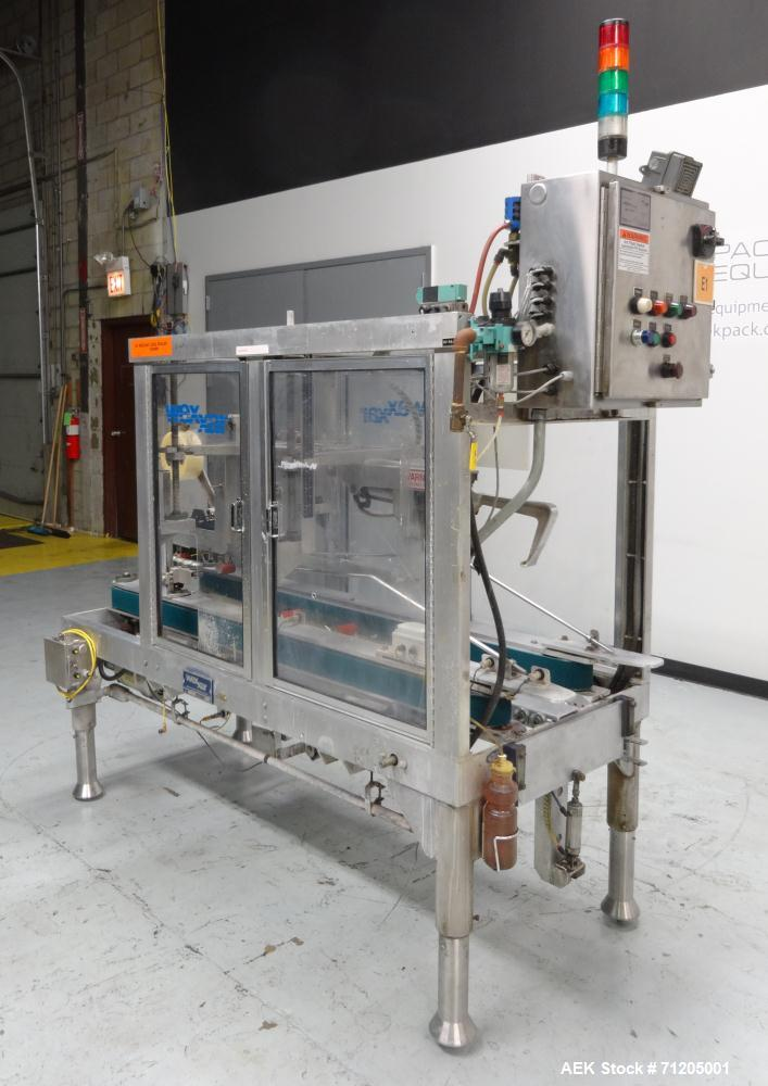 Used- Wexxar Model WST-07 Automatic Top Only Tape Case Sealer