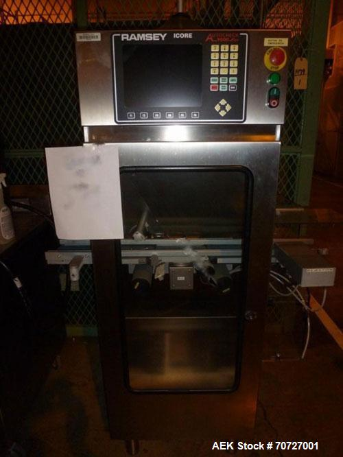 Used-Ramsey ICOR Check Weigher