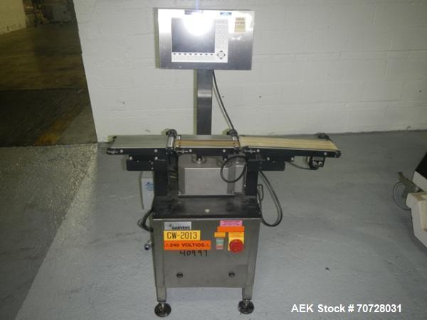 Used- Garvin Checkweigher, Type VS2