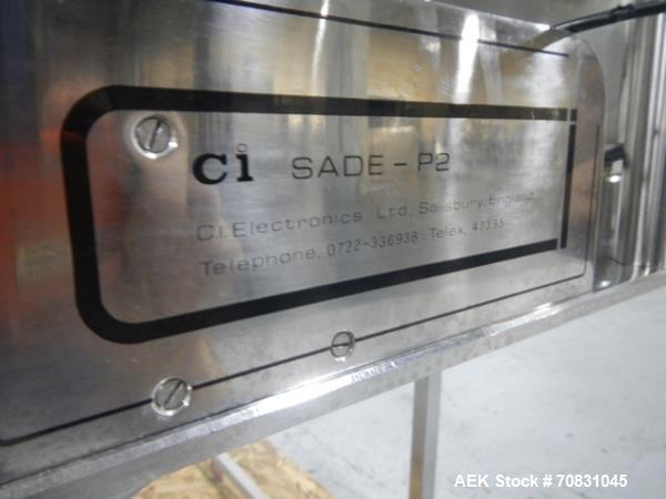 Used- CI Electronics Electronic Weigh Sorter, model Sade P2,