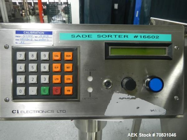 Used- CI Electronics Electronic Weigh Sorter, model Sade P2