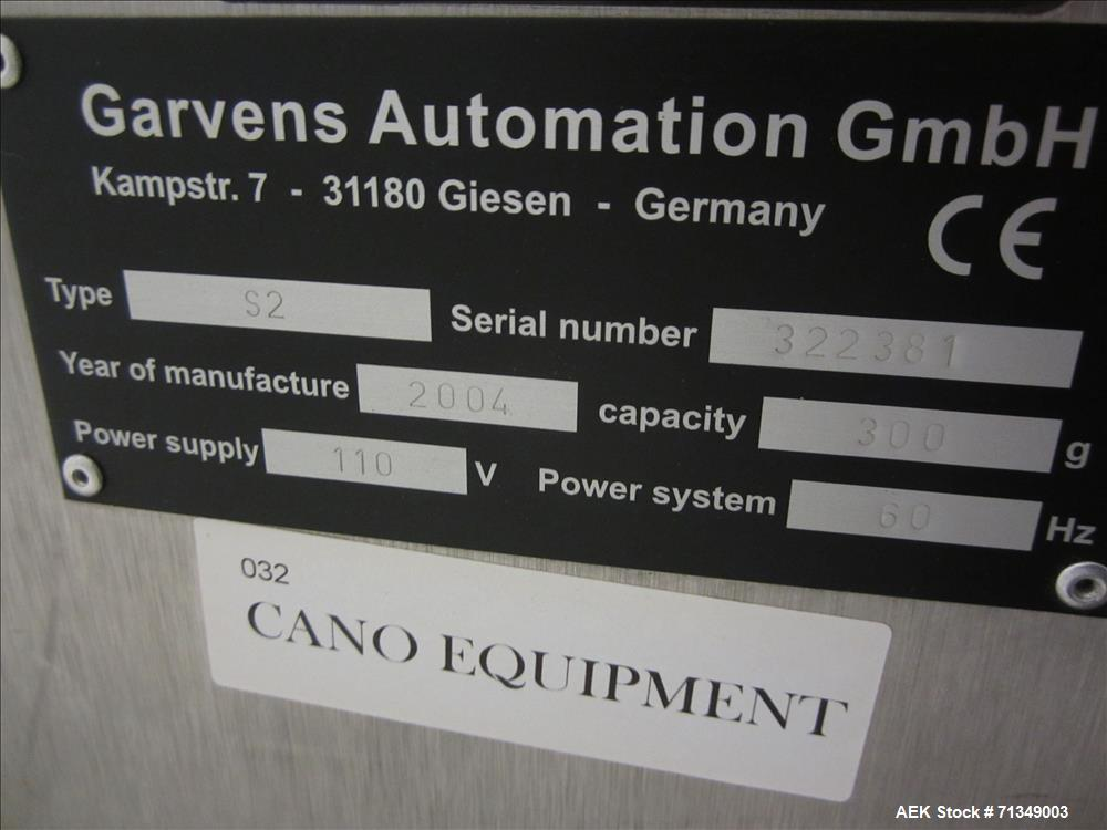 Used- Garvens (Hi-Speed) Model S-2 Checkweigher
