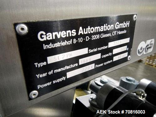 Used- Garvens Checkweigher, Type SL2PM