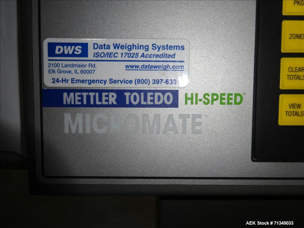 Used- Hi -Speed Model Beltweigh-MM Checkweigher