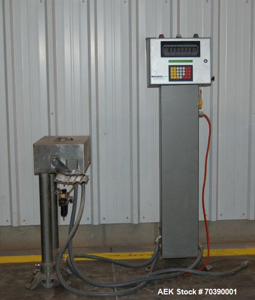 Used-Used: Hi-Speed IM 1100GI-MM Intermittent Checkweigher New/Installed January 2002 Designed for Bartelt pick & place Micr...