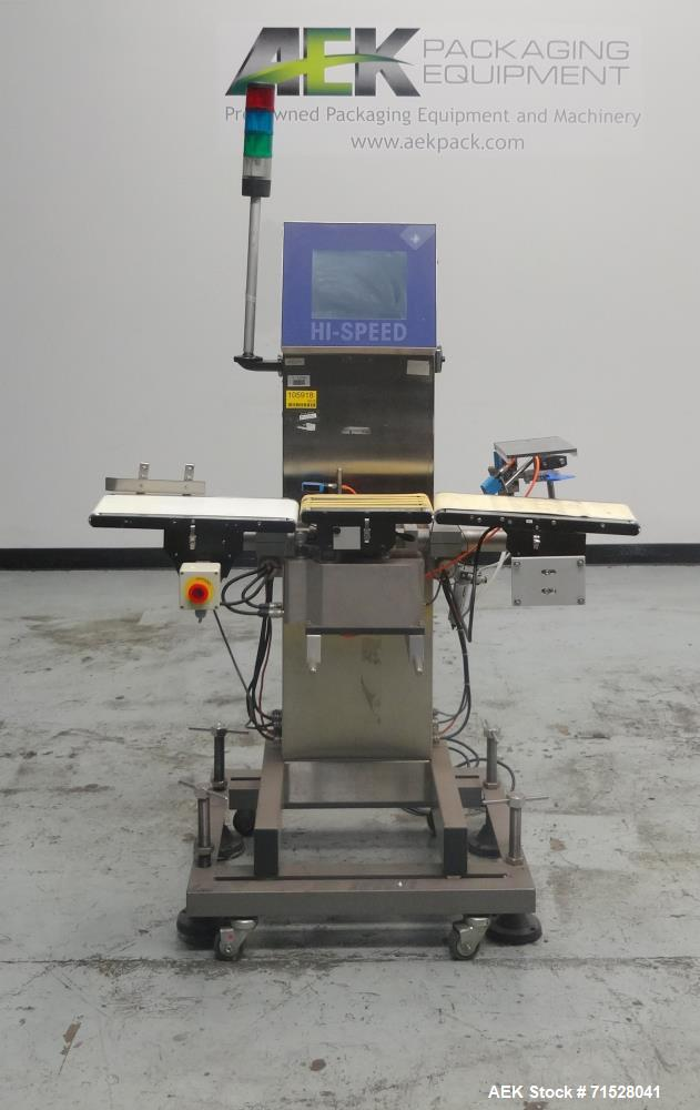 Used- Garvens RX2 Belt Checkweigher