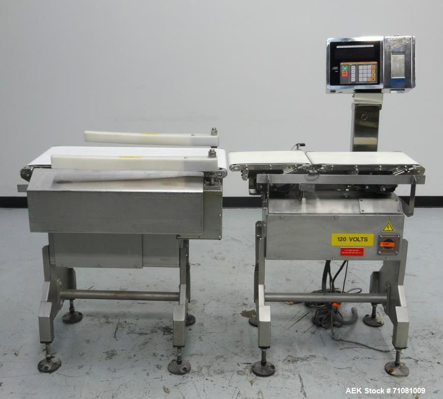 Used- Ishida DACS-V-012-SB/WP-1 Belt Checkweigher