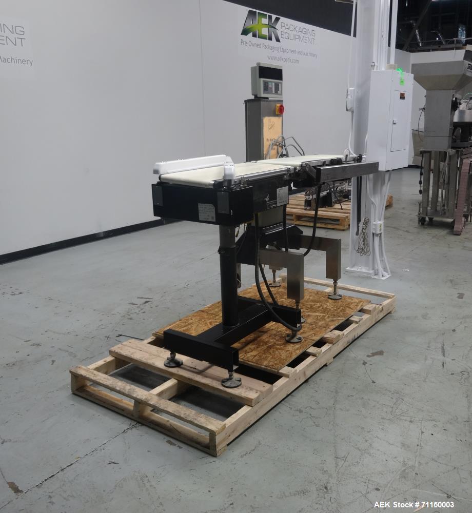 Used- Ishida Model DACS-WN-030-SB/PB-1 Checkweigher