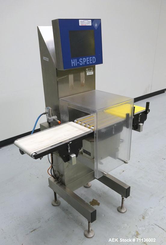 Used- Mettler Toledo (Hi-Speed) Model XS-2 Checkweigher