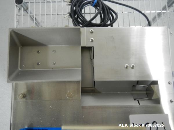 Used- Mocon Automatic Balance Checkweigher with Mocon automatic sorter, Model AB-3