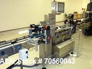 Used- Sartorious High Speed Checkweigher, Model EWK3015TS