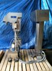 Used- Hi Speed Mettler Toledo Container Checkweigher, Model SST1100SS-CM. Stainless steel side belt load cell mechanism with...