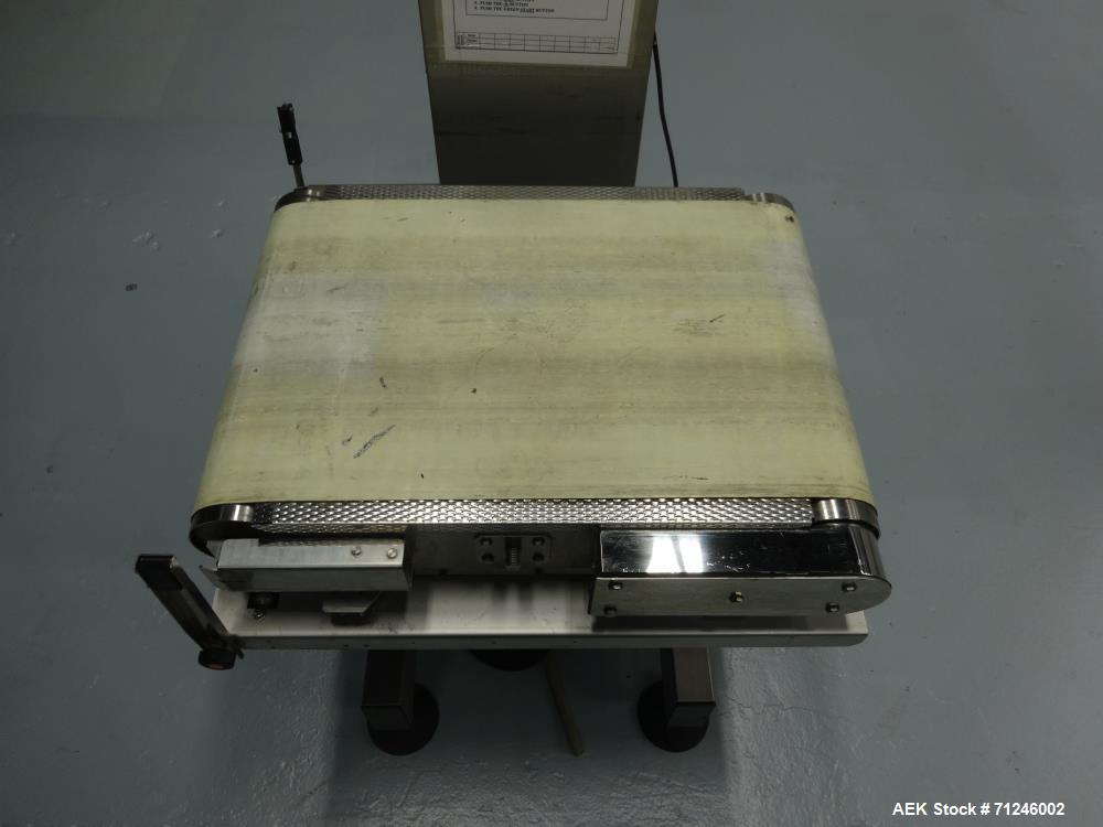 Used- Ishida Model DACS-WN-180-SB/WP-N High Speed Checkweigher