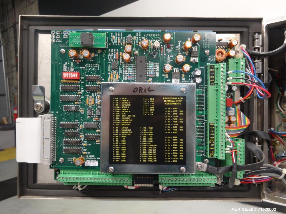 Used- Mettler Toledo Hi-Speed Model CS80-42-CS Inline Checkweigher