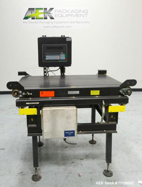 Used- Mettler Toledo Model Express Weigh 9480 Checkweighing System