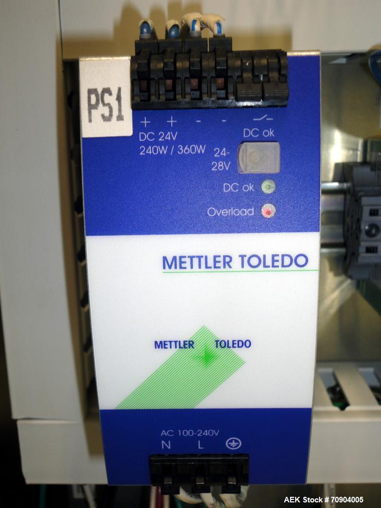 Used- Mettler Toledo Hi-Speed Checkweigher, Model CM6500CR-MM