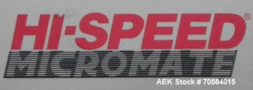 Used- Hi-Speed Model MM Belt Checkweigher