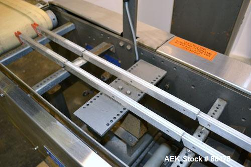 Used- Mettler Toledo High Speed Checkweigher, Model AP7400CRMM. Capacity 6 KG, 90-130 packages per minute. (3) sections: (1)...
