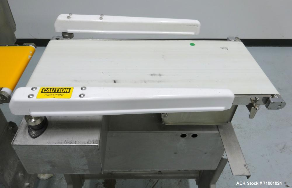 Used- Goring Kerr - Ishida Combination Metal Detector Checkweigher.