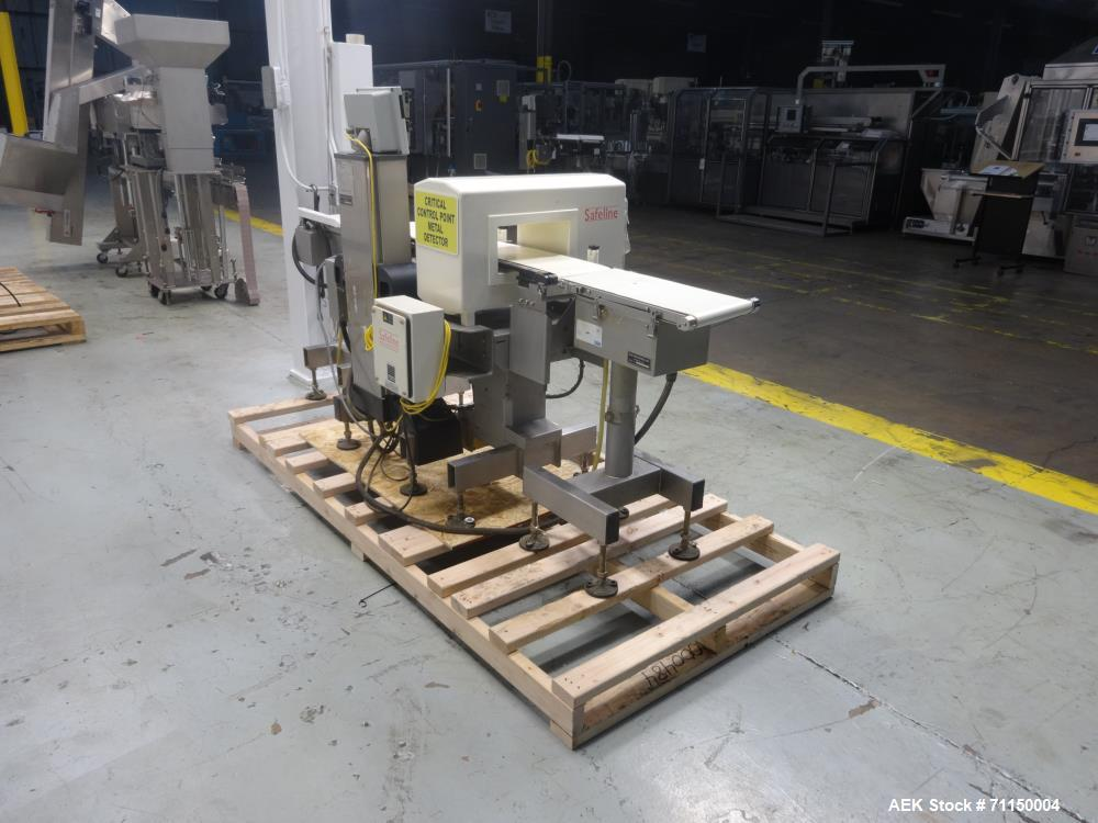 Used- Safeline Metal Detector Ishida Checkweigher-Metal Combination Unit