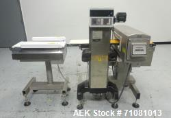 Used- SAFELINE - Ishida Combination Metal Detector Checkweigher
