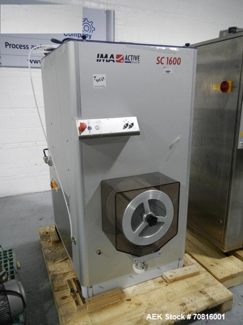 Used- IMA Precisa 18 Tablet/Capsule Checkweigher. Never Installed! Capable of speeds up to 200,000 per hour with change part...