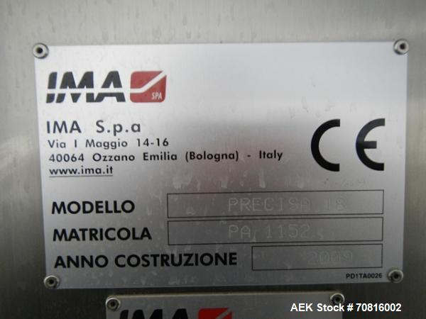 Used- IMA Precisa 18 Tablet/Capsule Checkweigher
