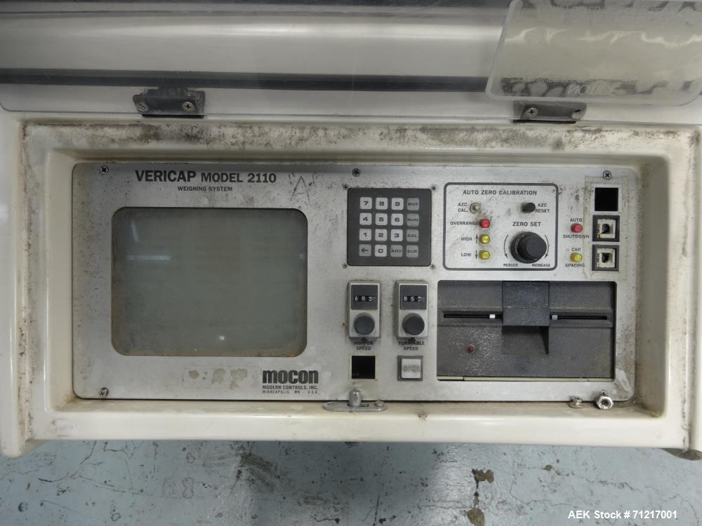Used- Mocon Vericap Model V-2110 High-Speed Capsule Weighing and Sorting System