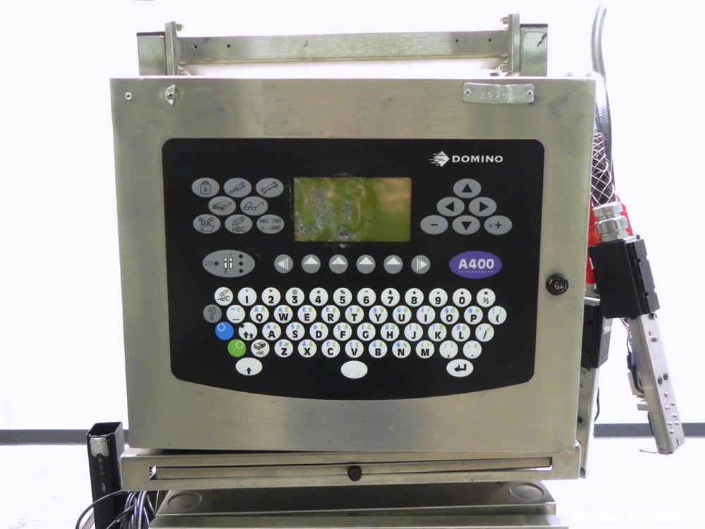 Used- Domino Model A400 Inkjet Coder