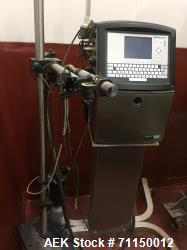 Used-Video Jet model 1520 continuous ink jet coder. Capable of printing 1- 5 lines at speeds up to 914/min. (278.6 m/min) wi...