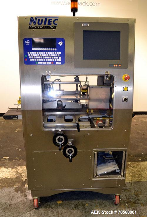 Used- Nutec Systems Pharmacarton Coding Inspection System II