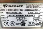 Used- Videojet Excel 2000 Series Small Character Ink Jet Printer