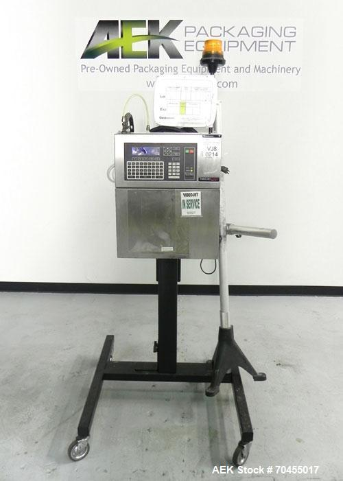 Used- VideoJet Model Excel 170i Small Character Ink Jet Coder