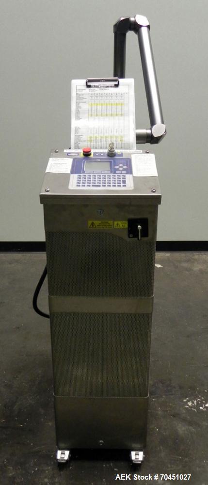Used- Video Jet Model XYMARK 500SL (3410) High Speed Steered-Beam Laser Coder