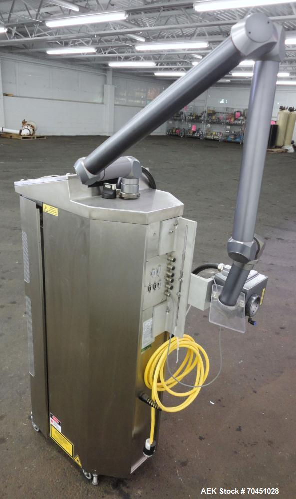 Used- Video Jet 3410 High Speed 50 Watt Internally Cooled Steered Beam Laser Coder