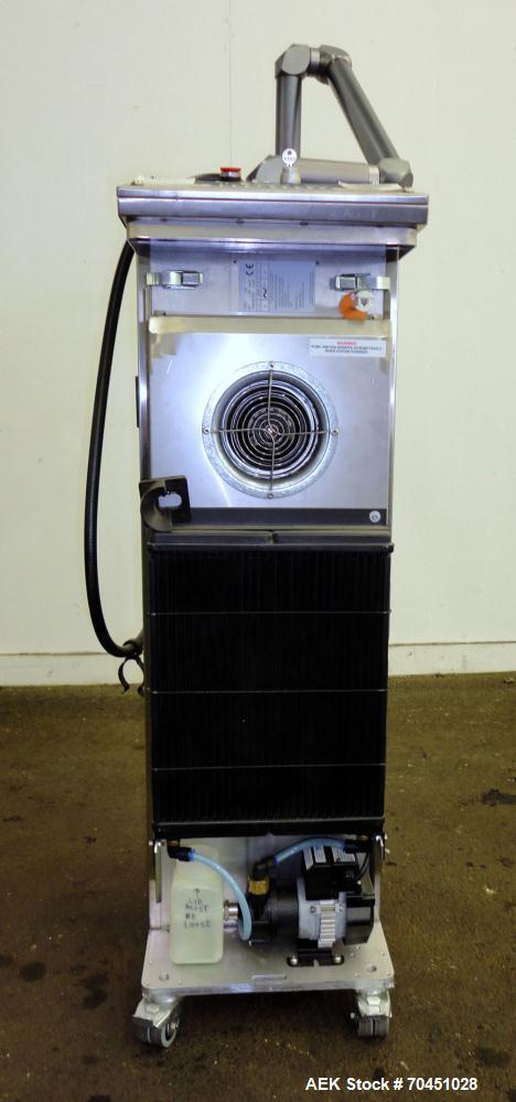Used- Video Jet 3410 High Speed 50 Watt Internally Cooled Steered Beam Laser Coder