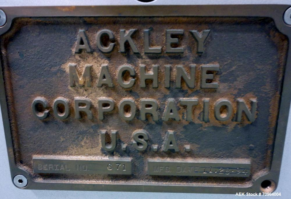 Used- Ackley Machine Cantilever Capsule Tablet Printer