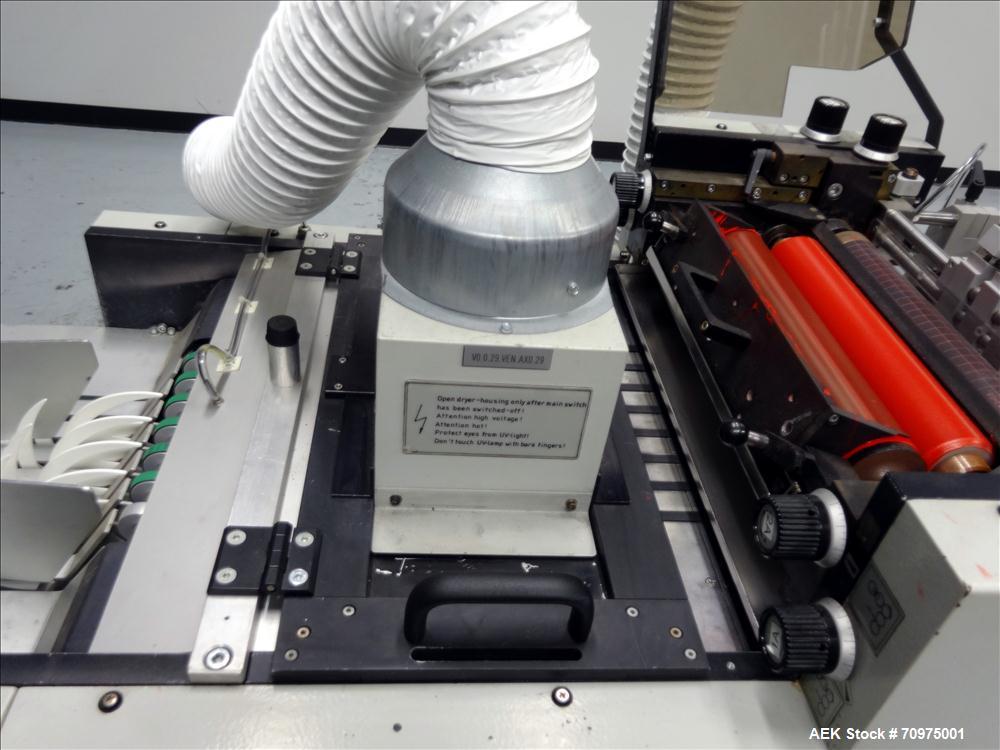 Used- KBA Metronic Model VSK 400 UV Folding Carton Flexographic Printer