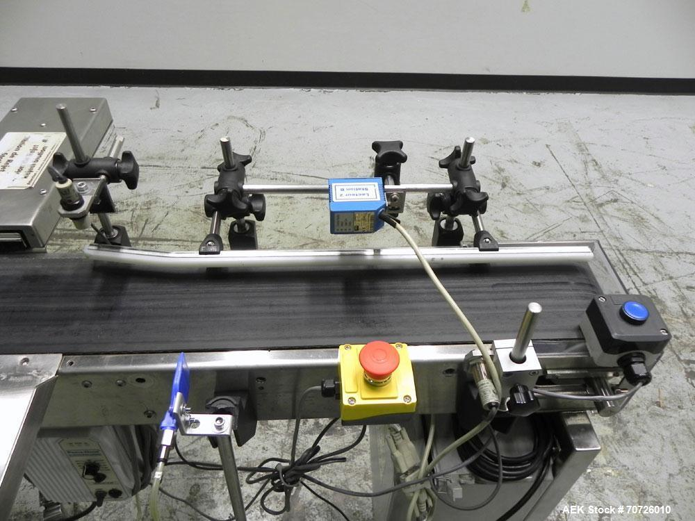 Used- TrioPak & SVP Bar Code Scanning Conveyor, Model SVP48
