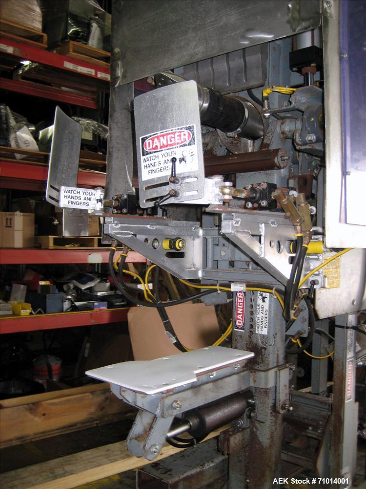 Used- Complete Smurfit Stone Air Valve Bag Packaging System