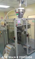 Used- Marchesini Sachet Filling Line. Consisitng of: model RC600 Marchesini sachet filler, built 1987 rebuilt 2005, Marchesi...