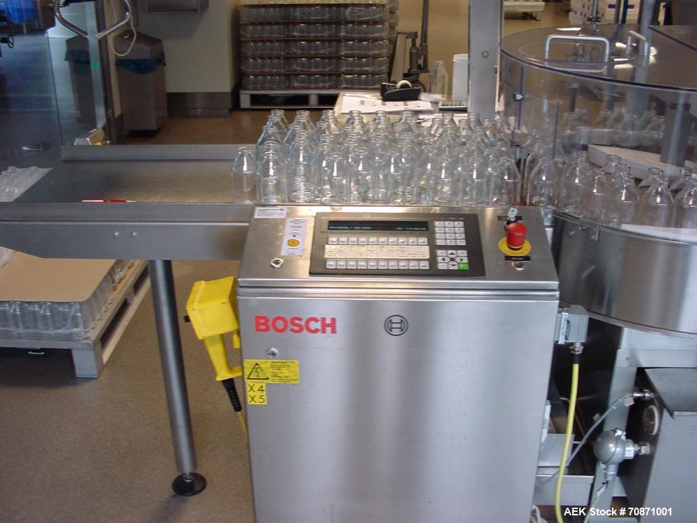 Unused-Bosch Vial Filling Line. Pharmaceutical