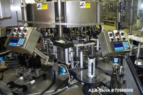 Used-Sanitary Hot Fill Filling Line